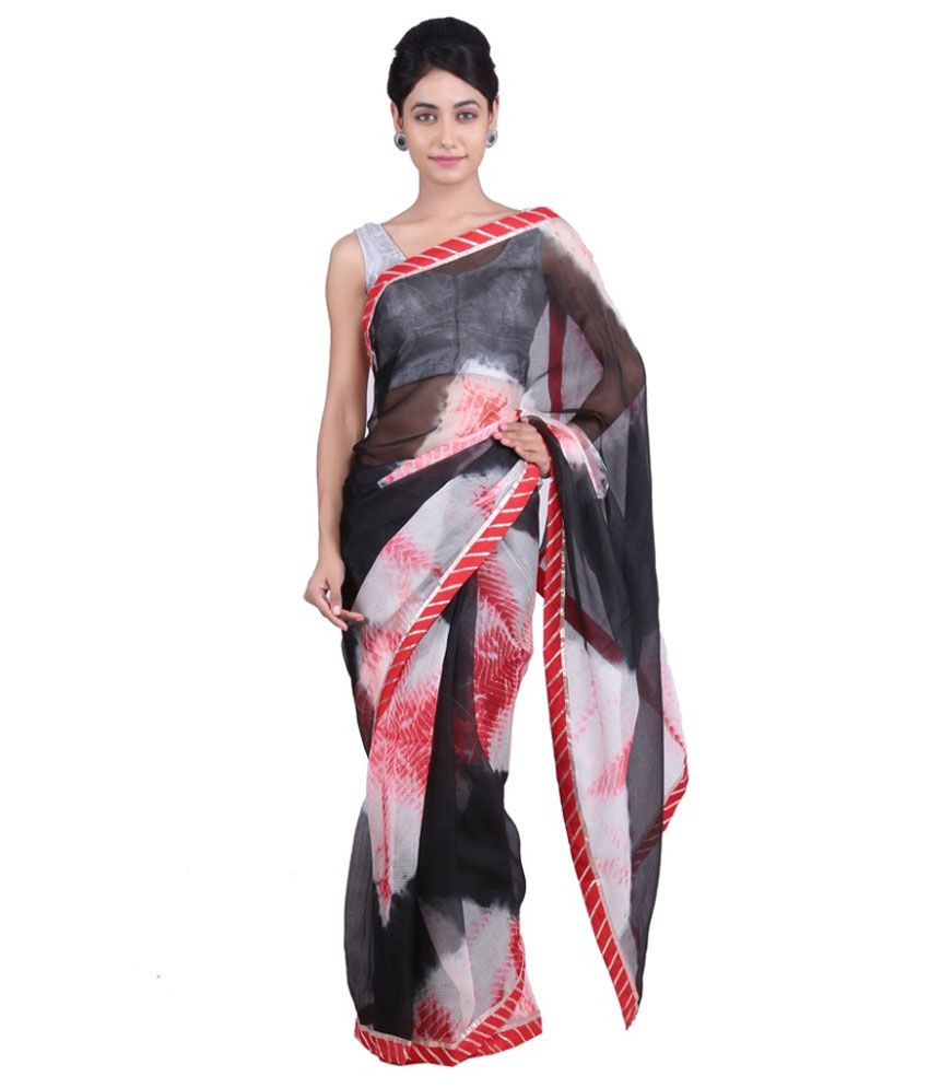 Geroo Multicoloured Silk Saree