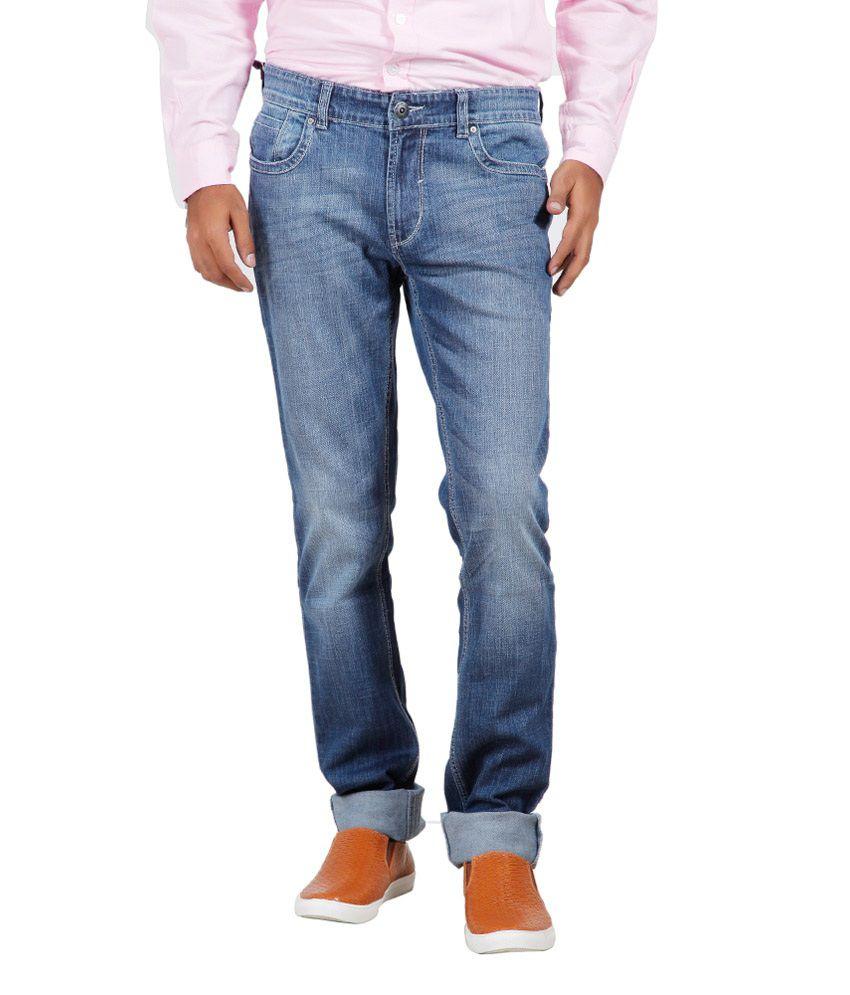 Numero Uno Blue Skinny Fit Jeans