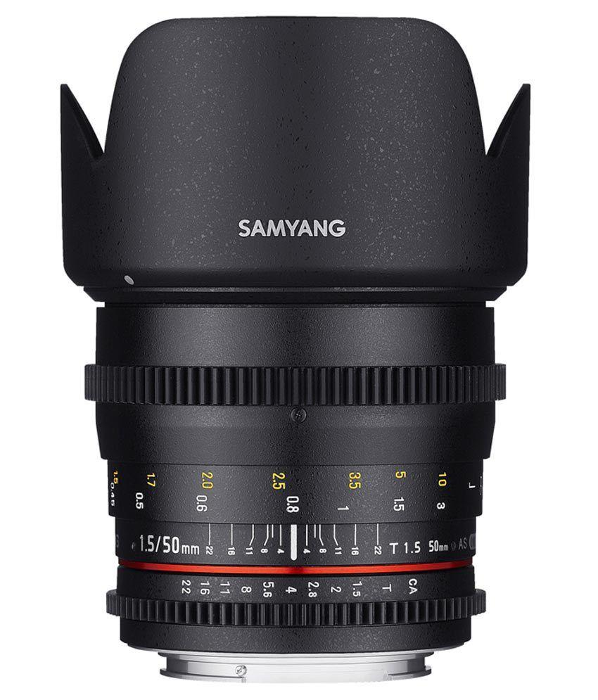Samyang 50mm T1.5 VDSLR II Sony Lens