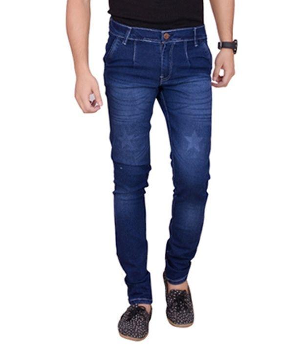 Vmw Jeans Blue Slim Fit Jeans