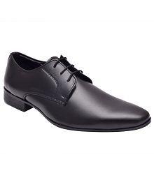 Hirel's Black Formal Shoes