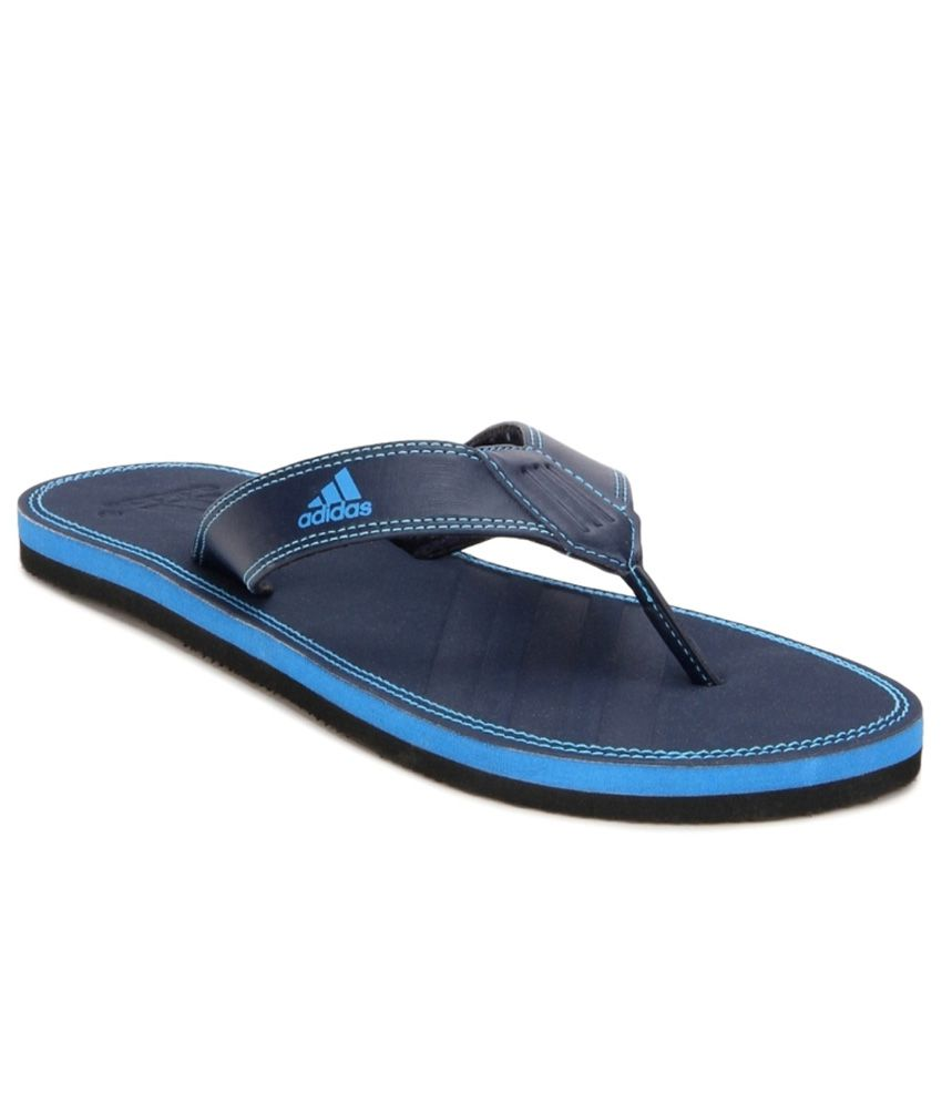 3ad32b1520d1 Adidas Blue Flip Flops Price in India- Buy Adidas Blue Flip Flops Online at  Snapdeal