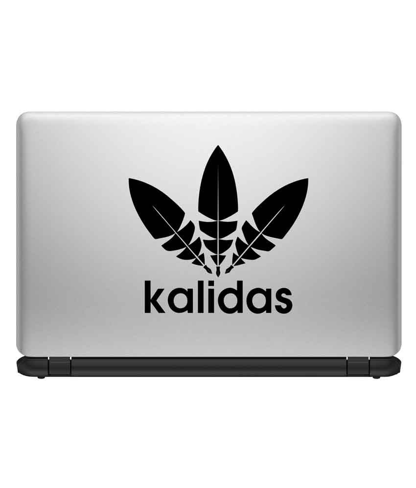 Decor Kafe Decor Kafe Kalidas Quote Laptop Sticker