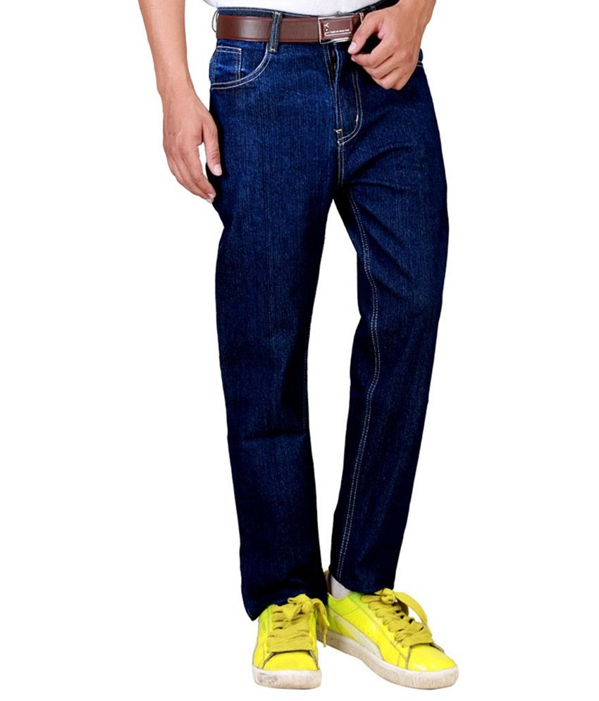 Masterly Weft Blue Regular Fit Jeans
