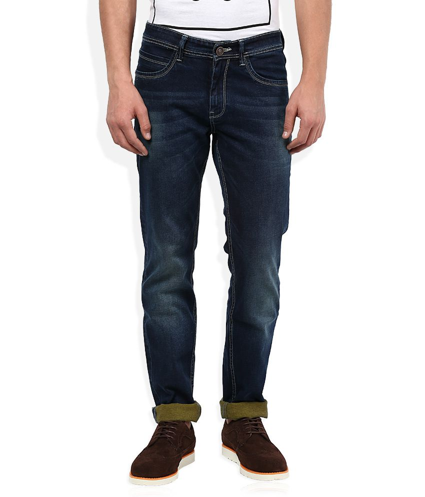 Monte Carlo Blue Slim Fit Jeans