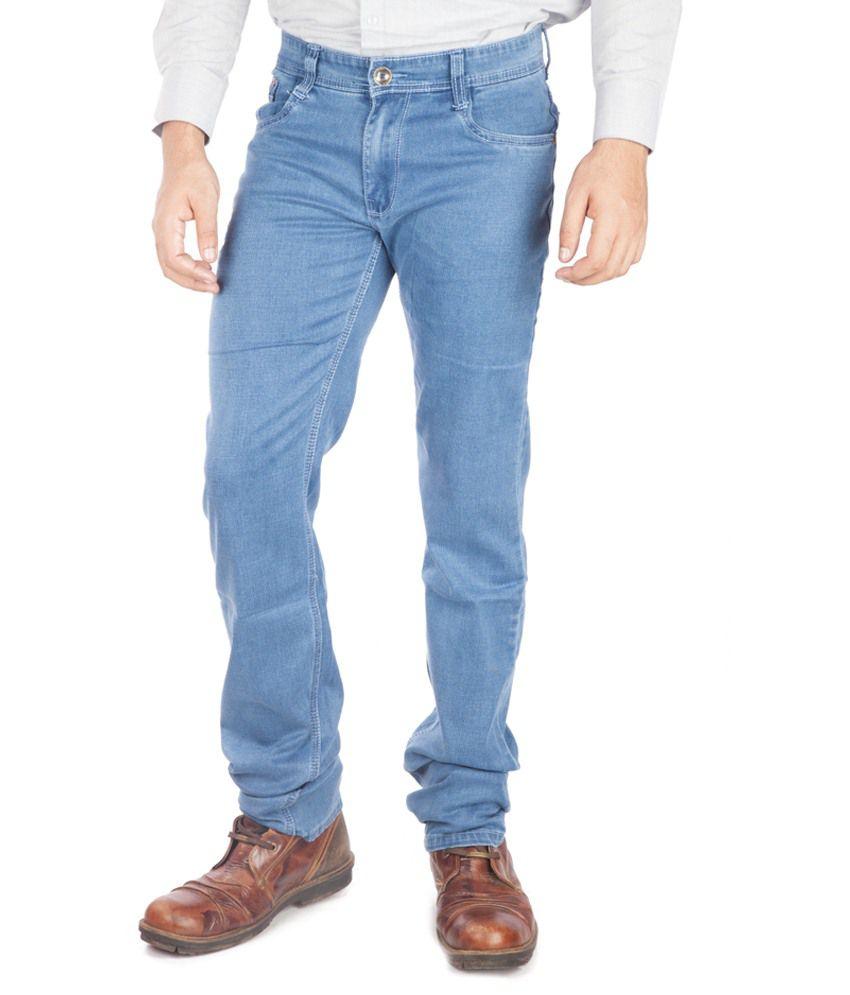A Flash Blue Regular Fit Jeans