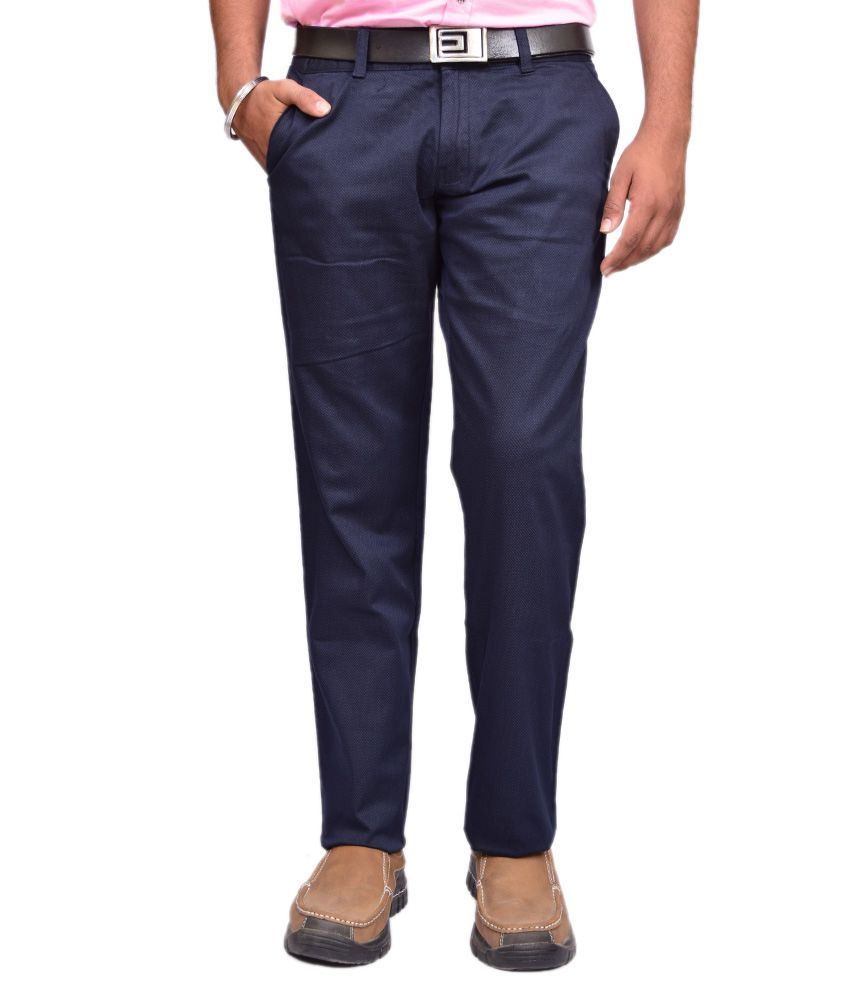 British Terminal Navy Slim Fit Casual Chinos