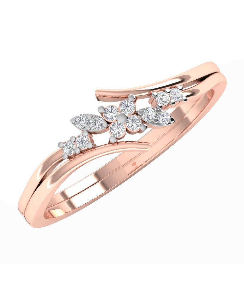 Caratify Calelin Rose Gold and Diamond Ring