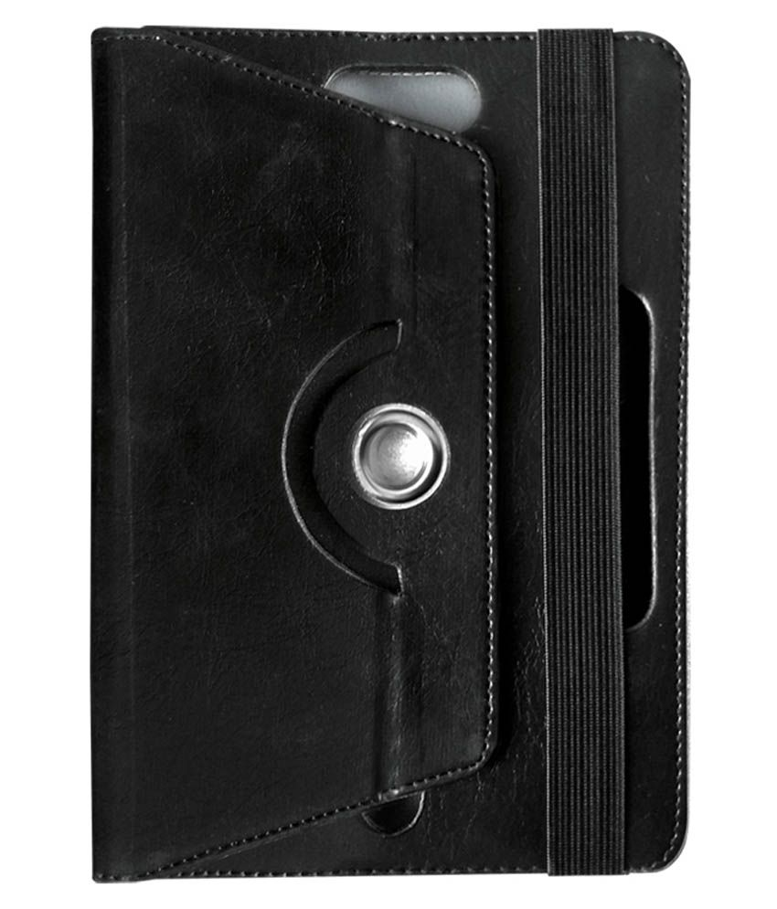 Fastway Rotating Tablet Cover For Celkon CT9 Tab- Black