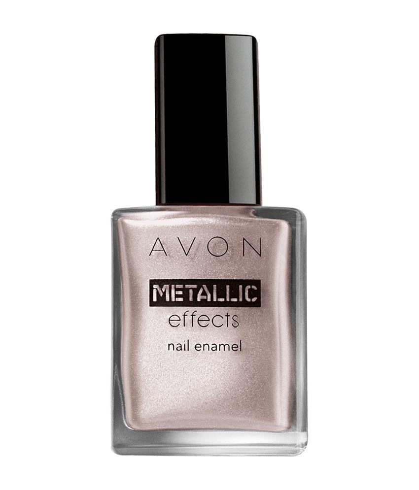 Avon Chrome Nail Powder: Avon Metallic Effect Icy Purple Nail Paint 8 Ml: Buy Avon