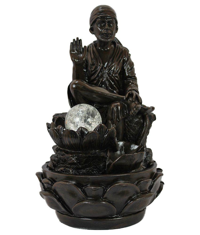 Gift Island Black Sai Baba Idol: Buy Gift Island Black Sai