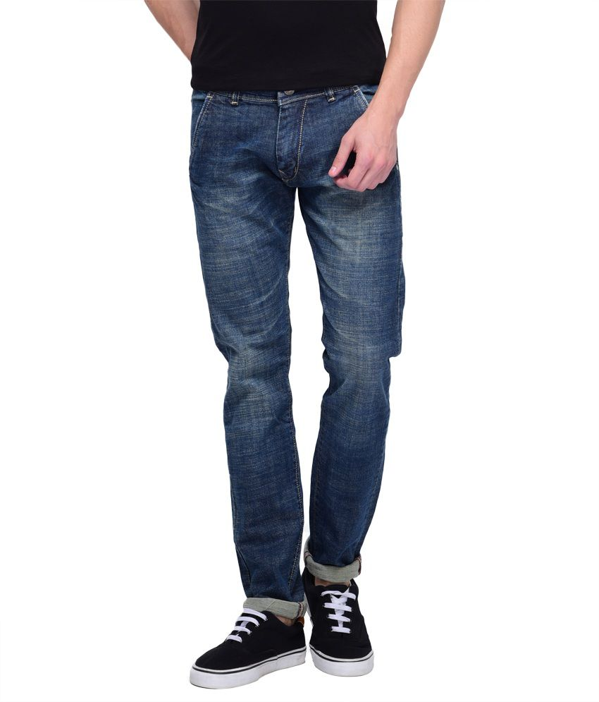 Spanish Jeans Blue Slim Fit Jeans