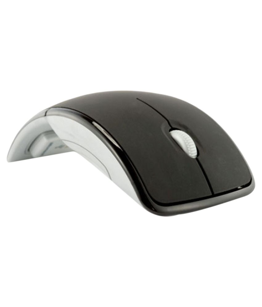 Terabyte ARC Wireless Mouse Black and White
