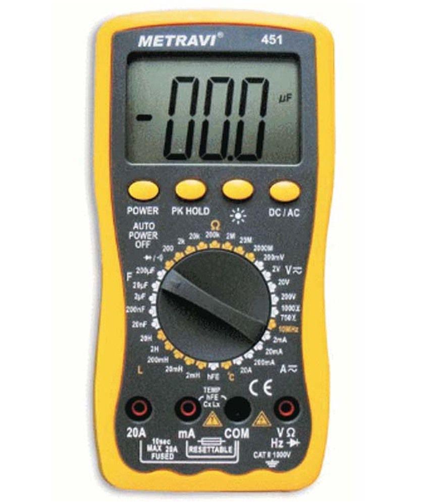 Using An Lcr Meter : Metravi digital lcr meter buy