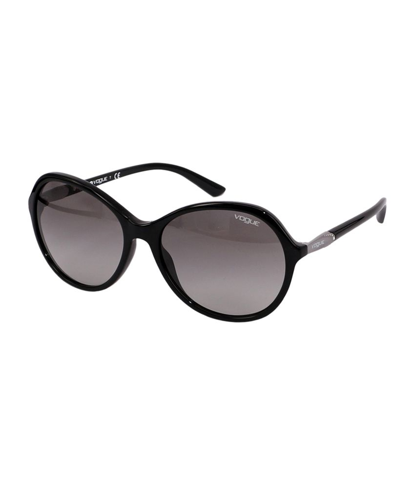f05ad47105 Vogue Black Round Sunglasses for Women VO5007 W4411 available at SnapDeal  for Rs.2800
