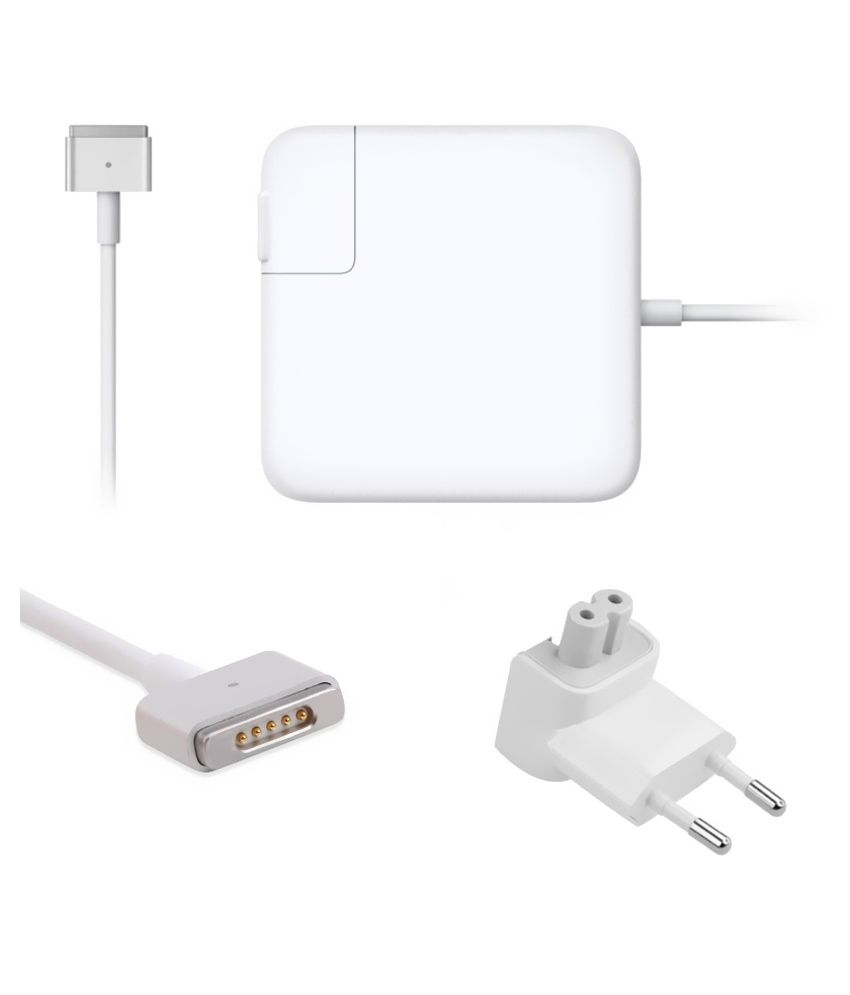 Lapsix  Magsafe-2 85w Power Adapter 20v-4.25a For Apple Macbook 661-3994 - White