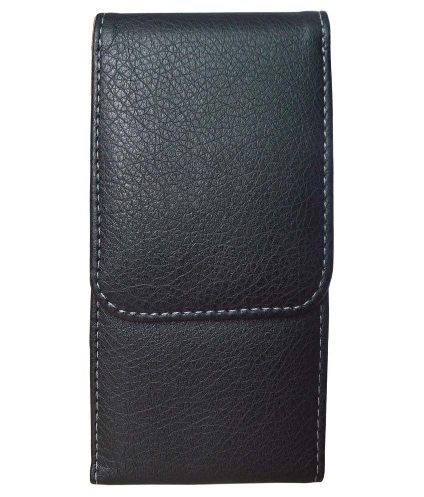 Totta Leather Holster For Spice Stellar 497-Black