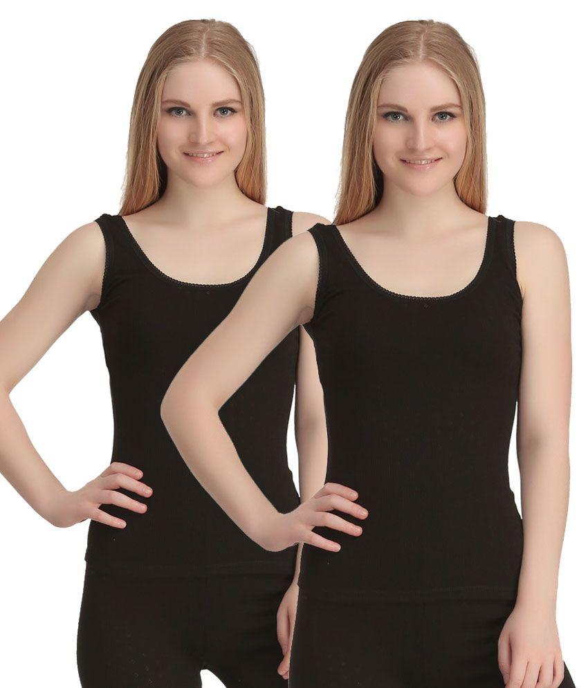 Kanvin Soft Sleeveless Thermal - 2 Pcs