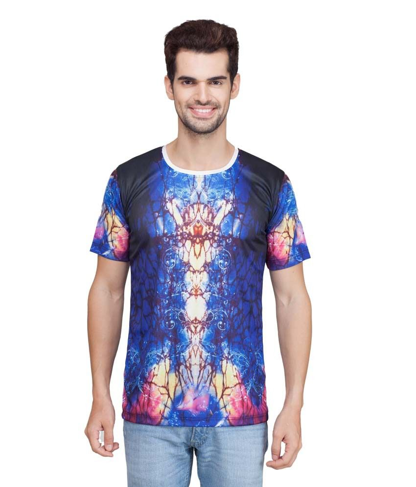 KindT's Multi Polyester Tshirt