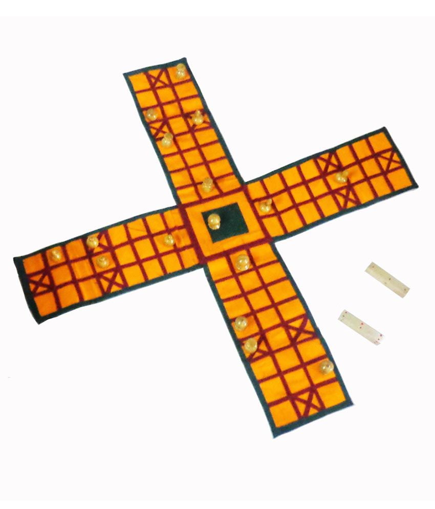 Spardha Handicrafts Red Classic Ludo Game Buy Spardha Handicrafts