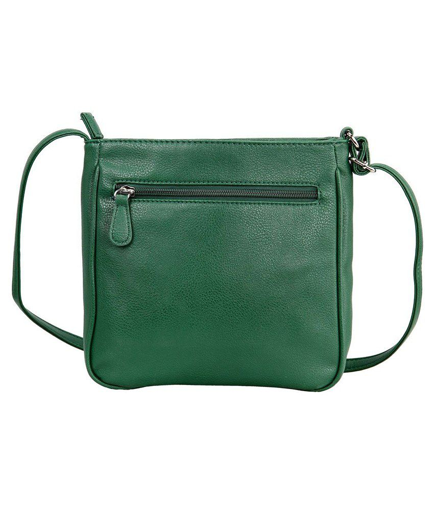 Lavie Punk Green P.U. Medium Ladies Sling Bag - Buy Lavie Punk ...