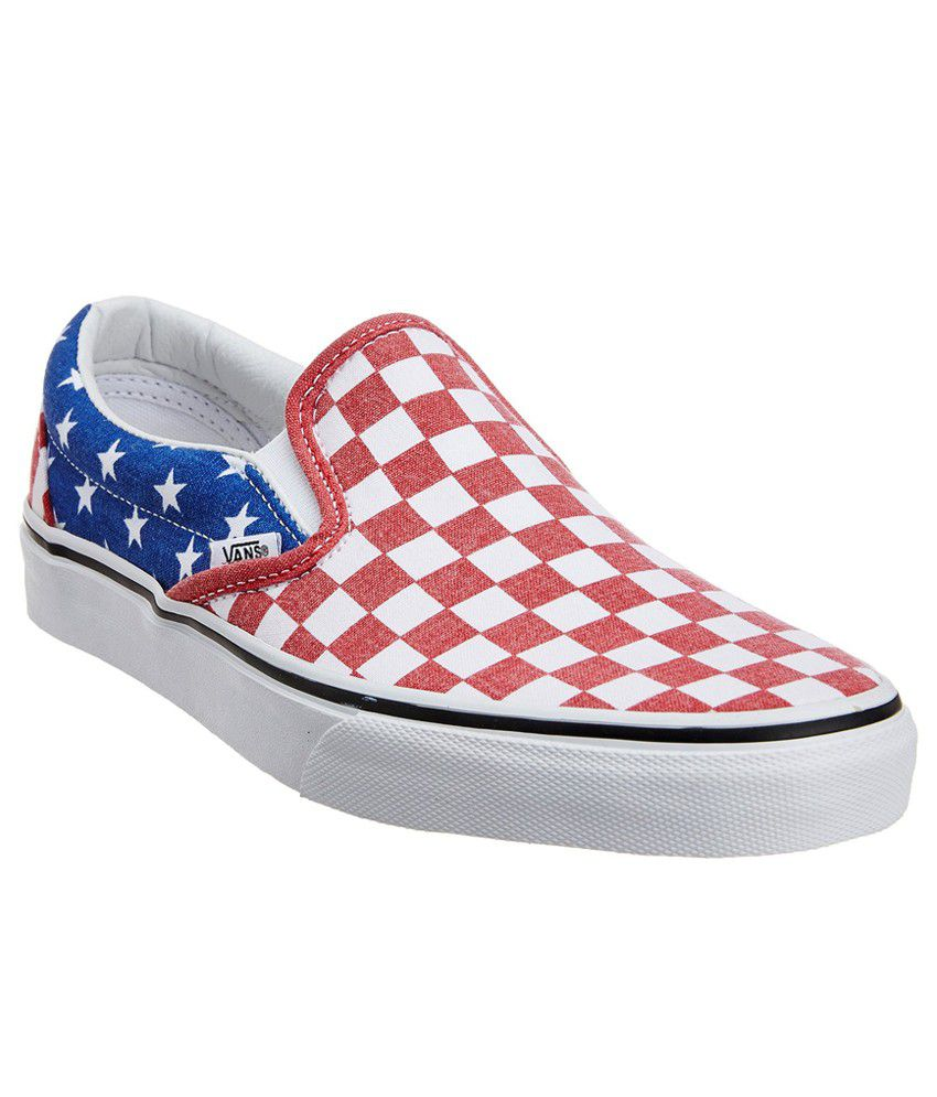 Vans Classic Slip-On Multi Colour Casual Shoes - Buy Vans Classic Slip-On  Multi Colour Casual Shoes Online at Best Prices in India on Snapdeal e1da4c346