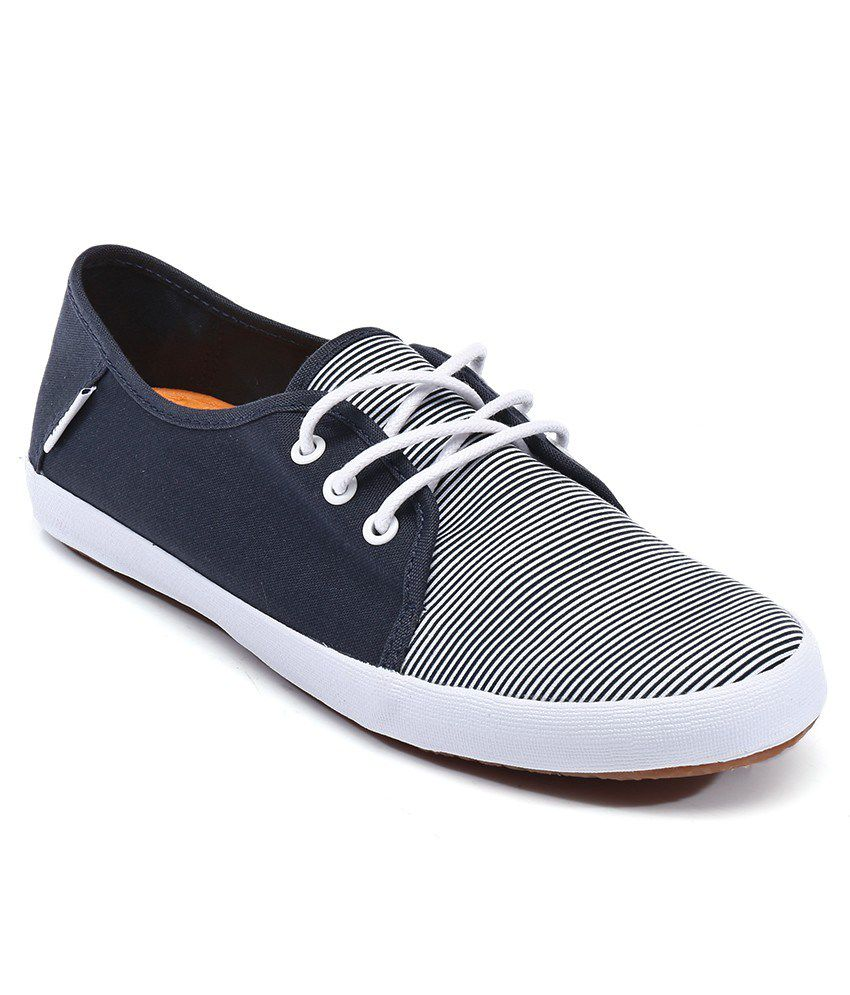 Vans Tazie Slip on Navy Casual Shoes  Women