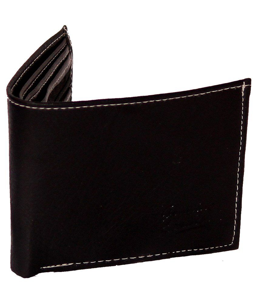 ASS Black Leather Wallet