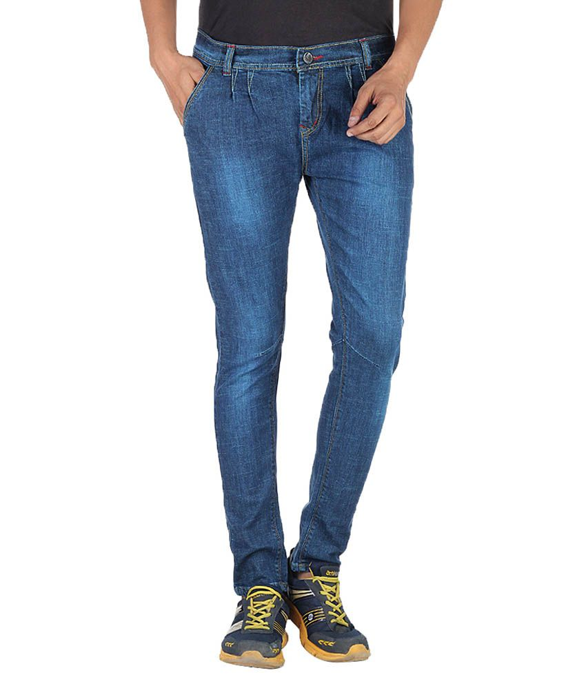 French Fever Blue Slim Fit Jeans