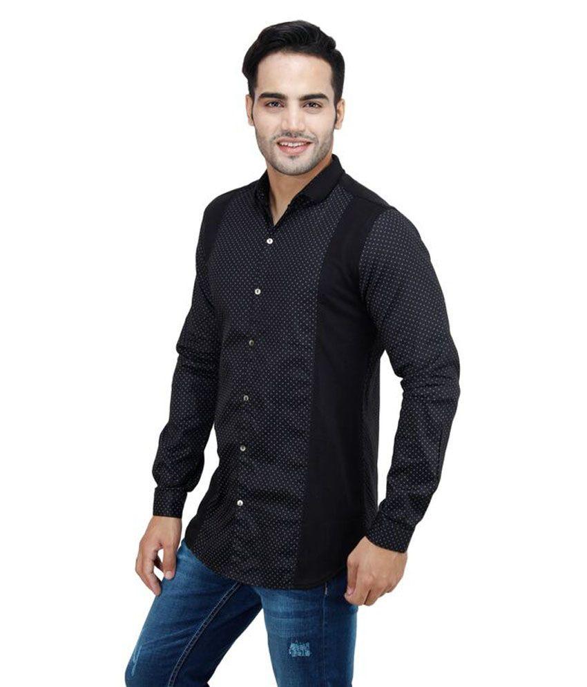 Zara black t shirt india -  Zara Men Shirt Black Casual Shirt