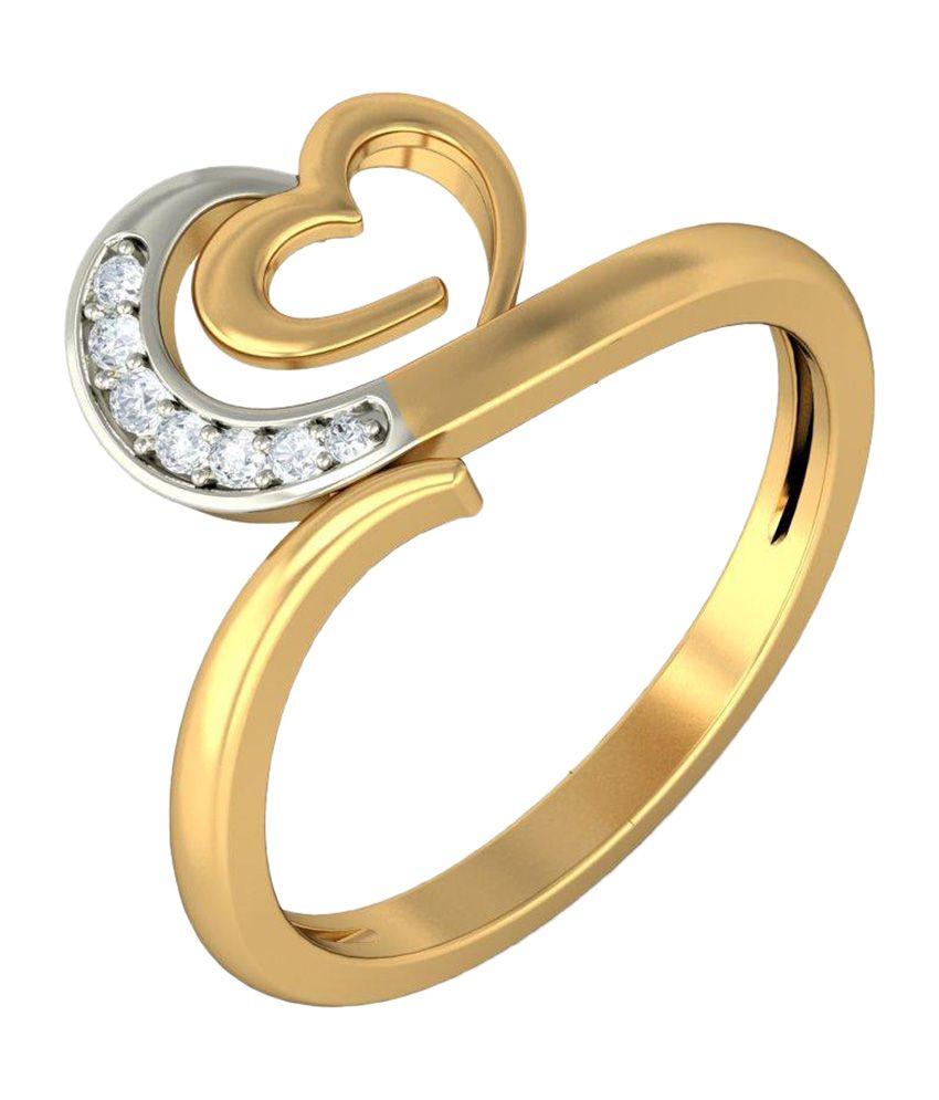 BlueStone 18kt Yellow Gold Nova Ring