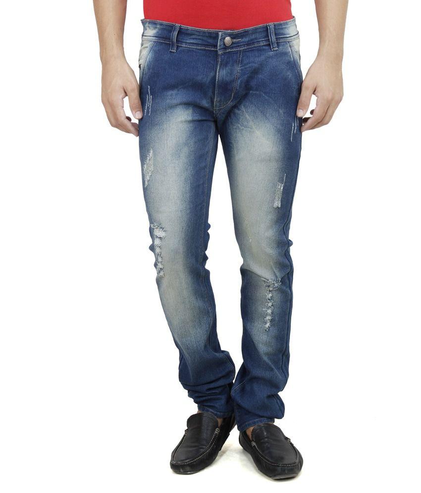 Savon Blue Slim Fit Jeans