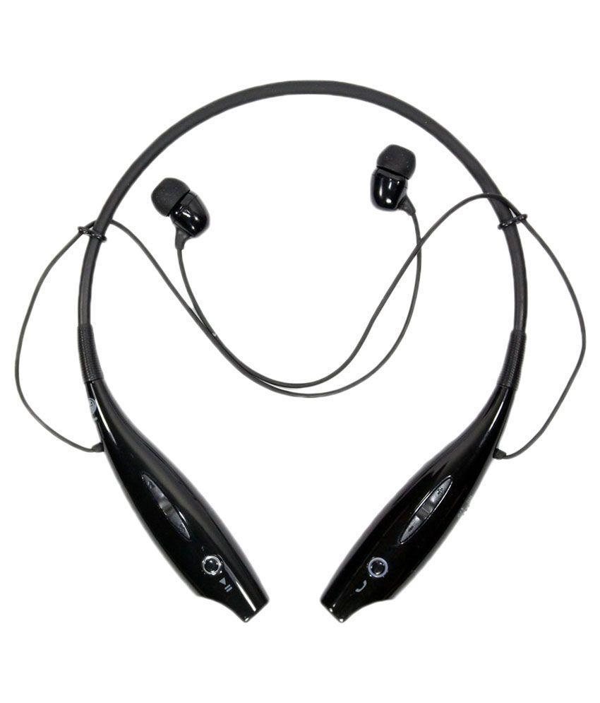 Ecorp HBS 730 Wireless Bluetooth Headset With Mic   Black