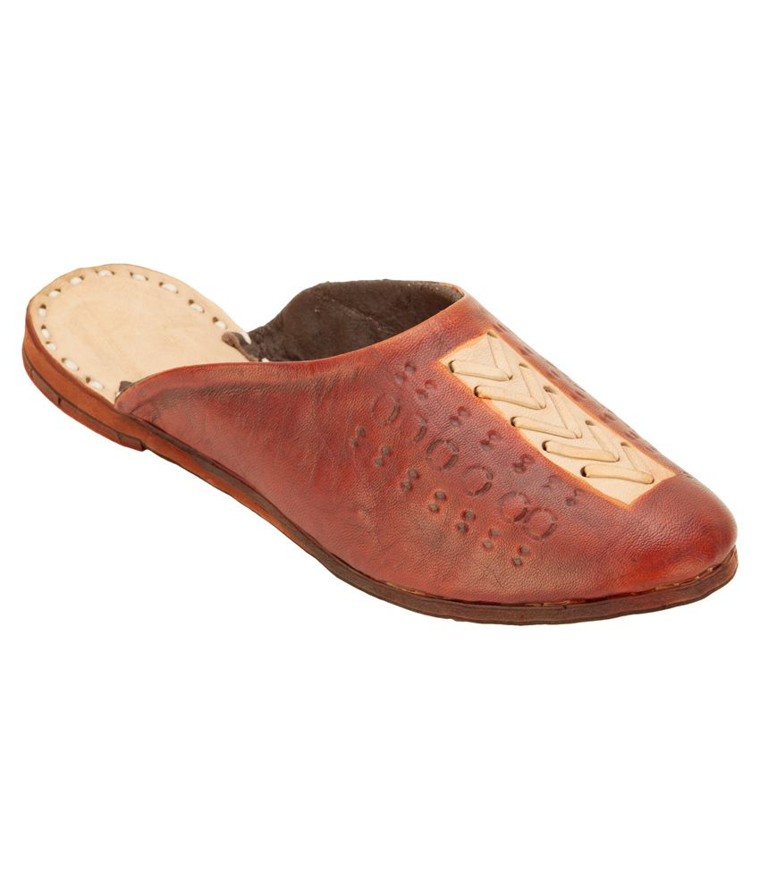 Footrendz Brown Mojaris