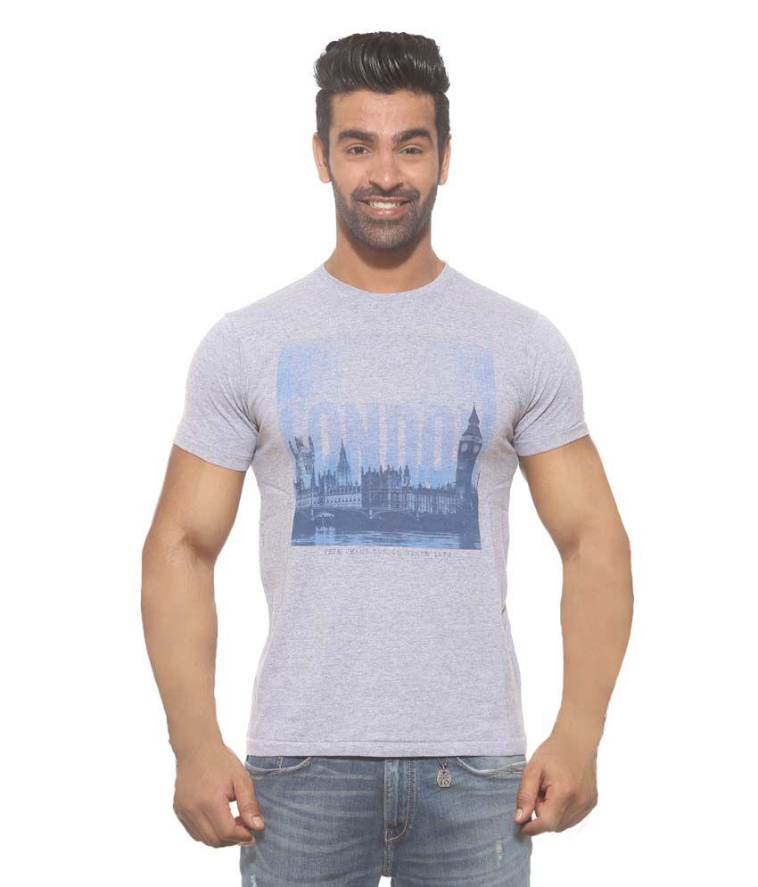 Pepe Jeans Grey Cotton T - Shirt