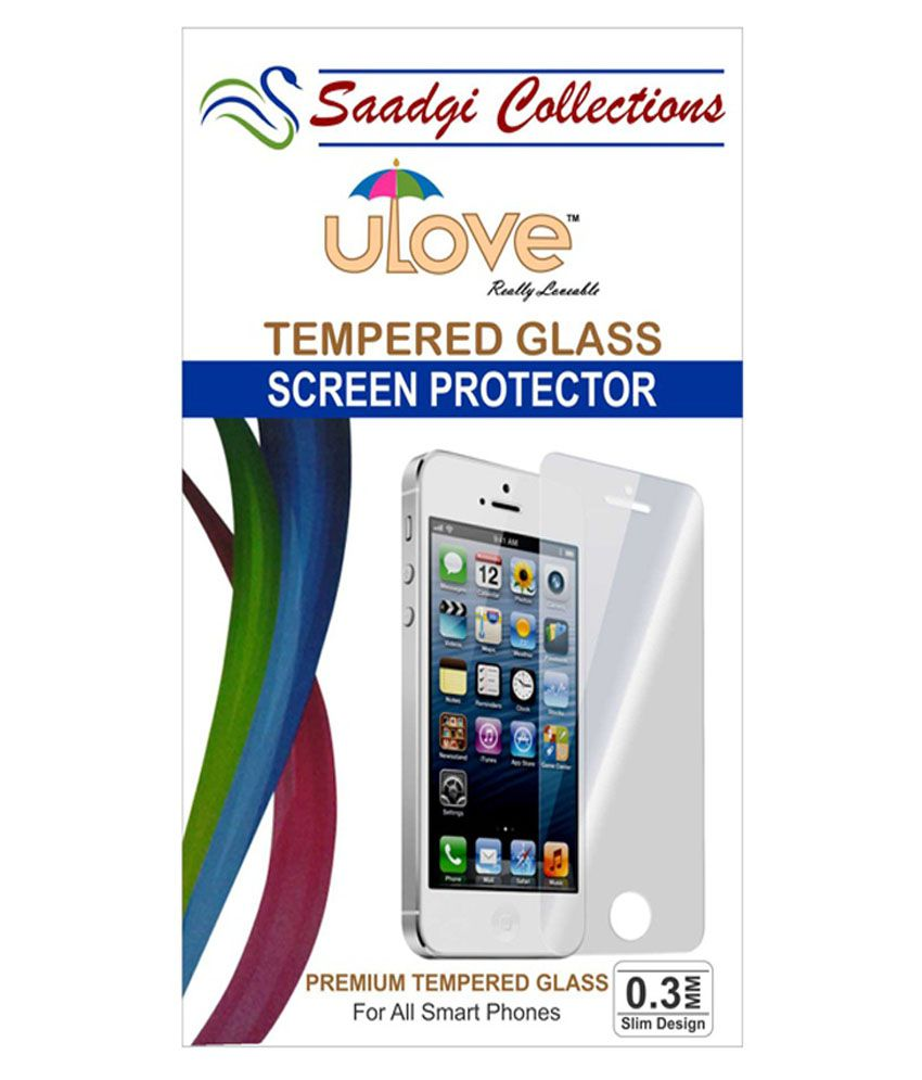 Micromax Aq5000 Tempered Glass Screen Guard by Saadgi Collections