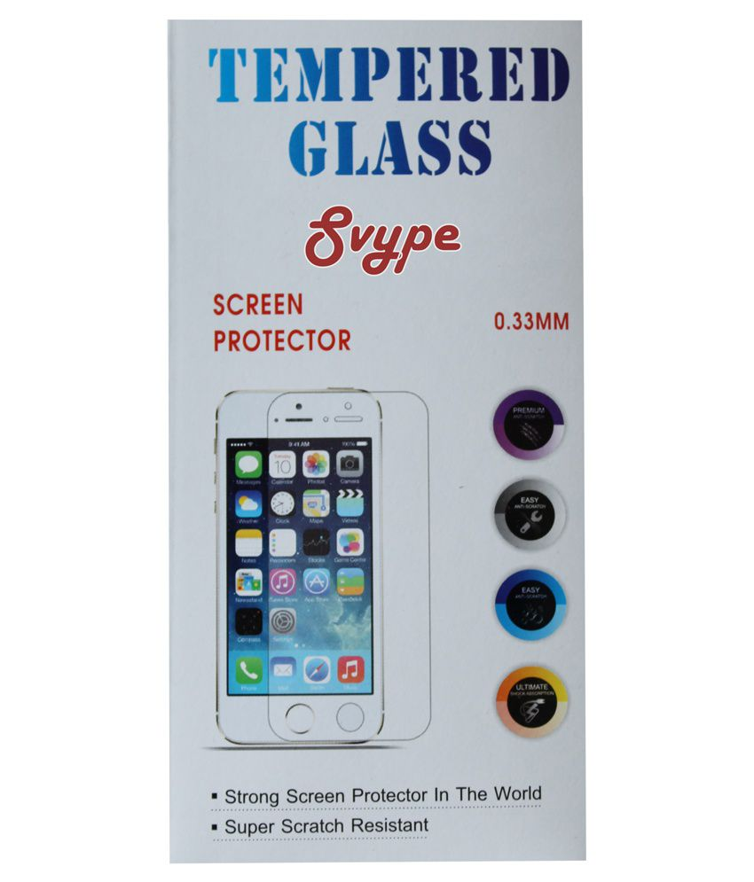Lenovo Vibe S1 Tempered Glass Screen Guard by Svype
