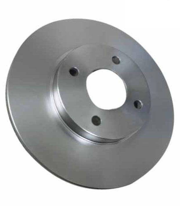 Smsss Front Brake Disc Rotor For Mahindra & Mahindra Xuv500 - Set Of 2