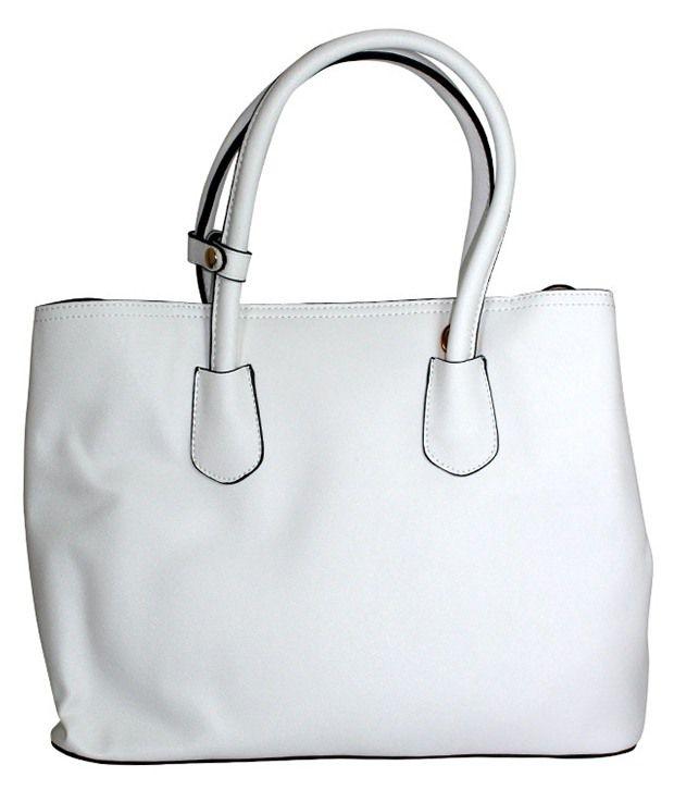 Gift Island White Shoulder Bag
