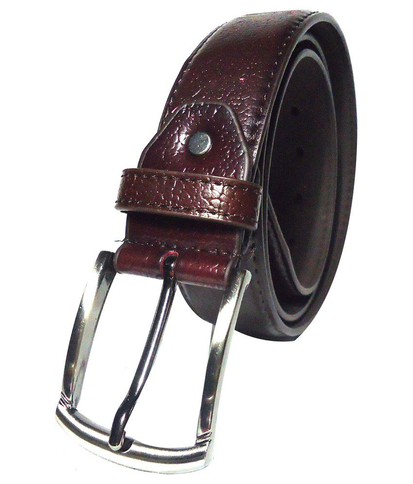 Tenor Brown Formal Belt