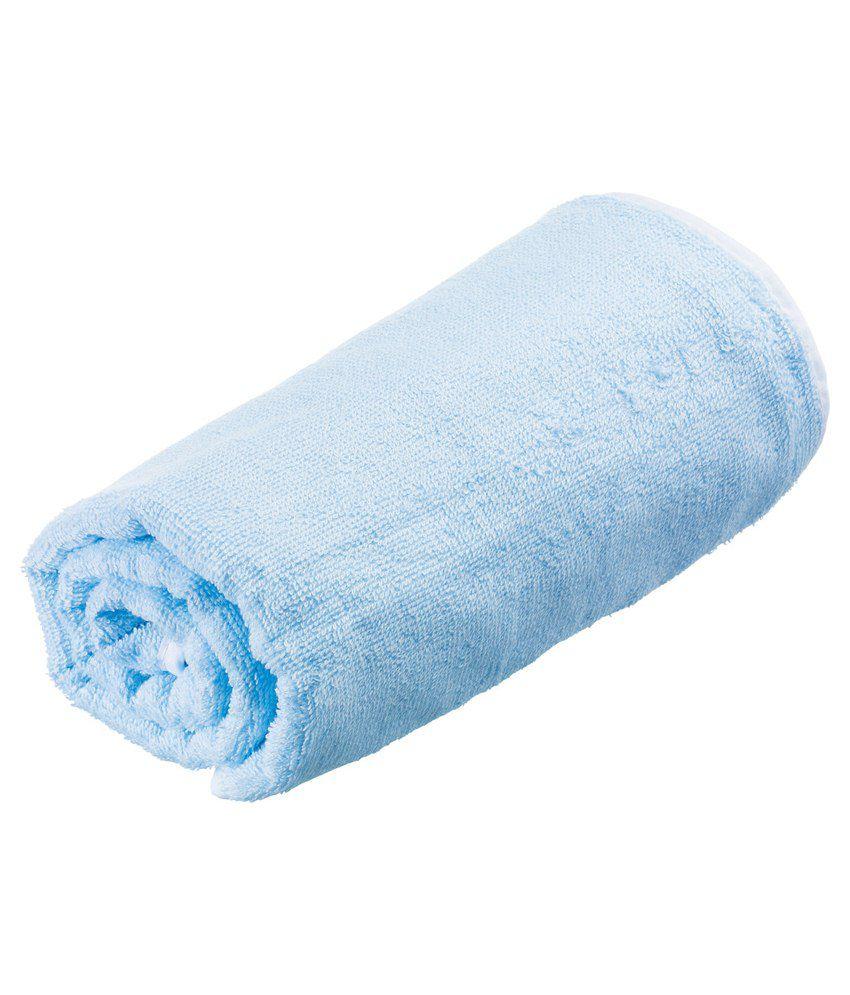 Go Travel Blue Cotton Towel
