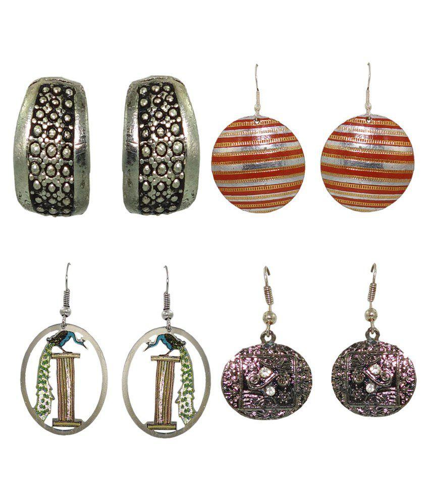 Anjan Designer Combo Earrings