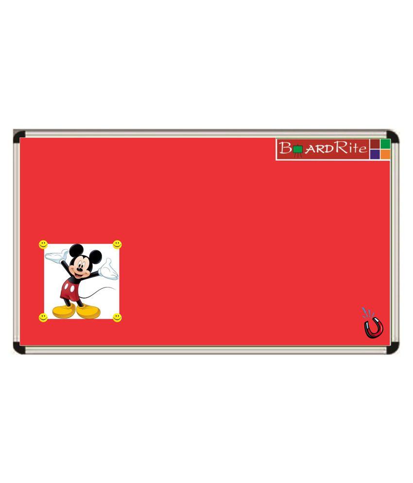 Boardrite Sporty Magnetic Notice Board 6 feet x 4 feet