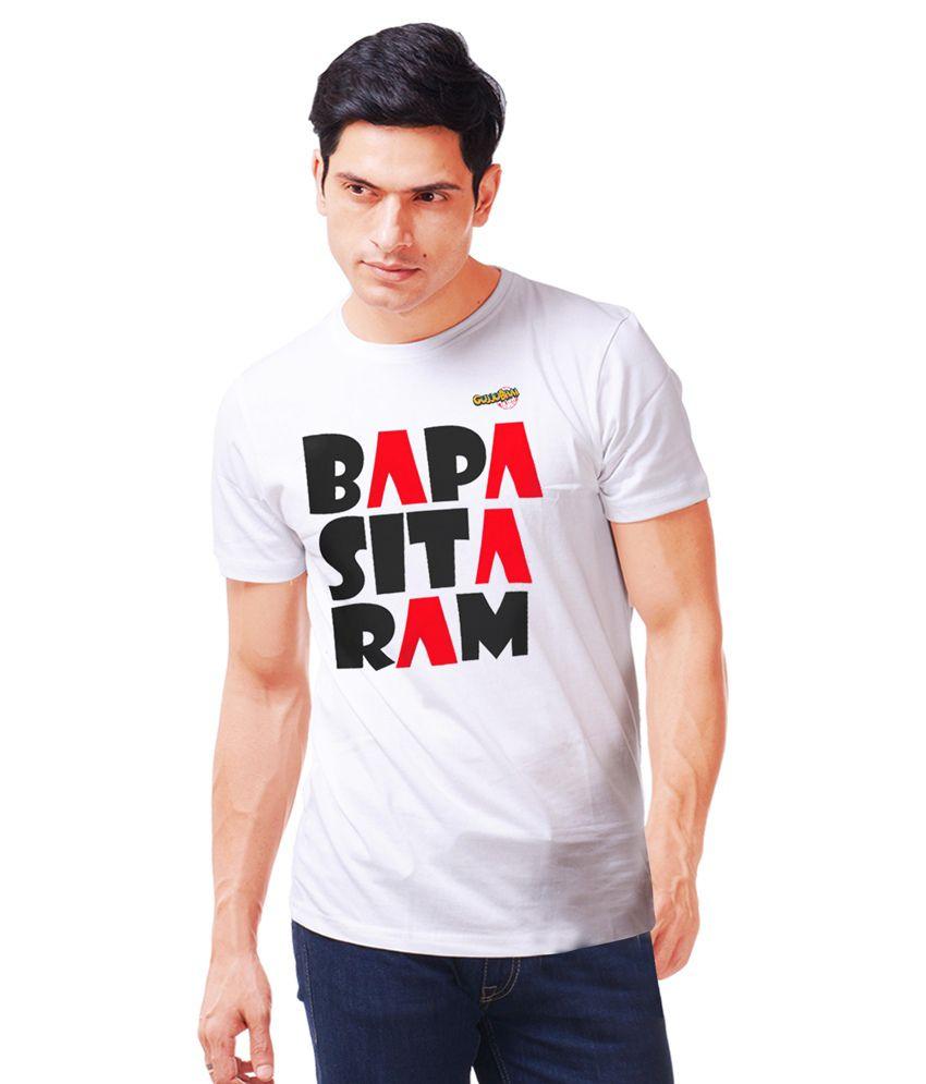 Dipna Patel Clothing White Cotton T Shirt