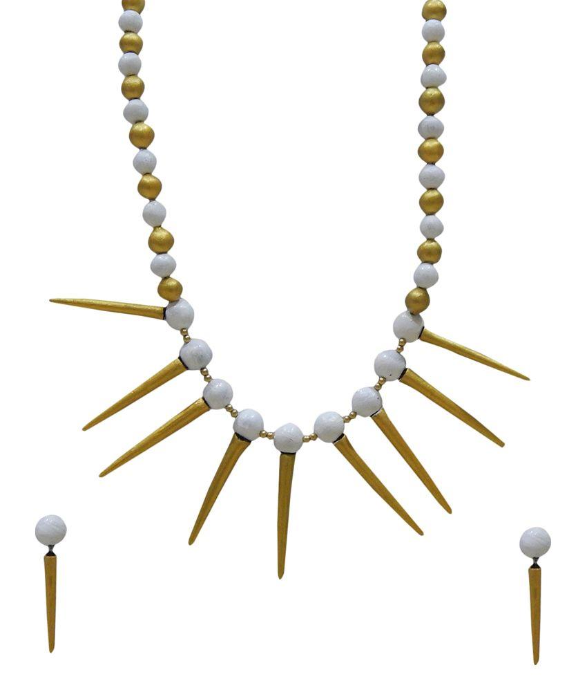 Jeevikrish Creations Multicolour Casual Hit Designer Necklace Set
