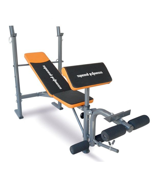 Speed Fitness Sf1670 Weight Lifting Multi Purpose Heavy Duty Bench Press Buy Online At Best