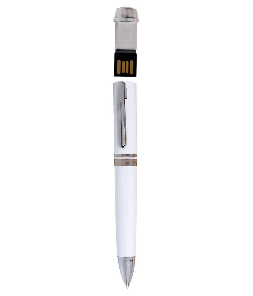 Moda Xclusive 8 GB Pen Drives White