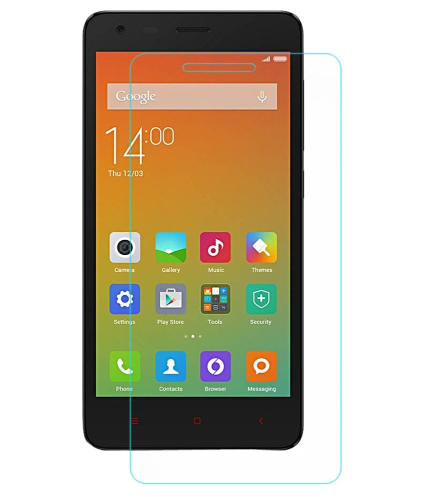 Icebergking Tempered Glass Screen Guard for Xiomi Red Mi 2