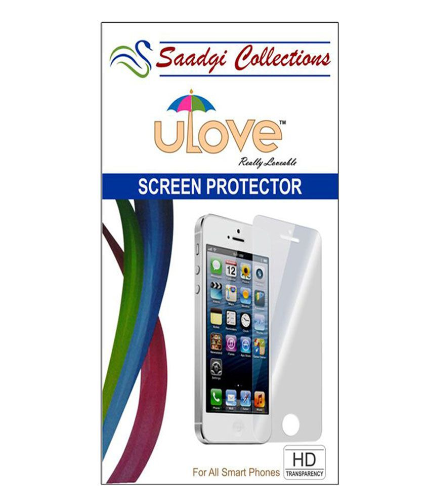 Lava X5 Tempered Glass Screen Guard by Saadgi Collections