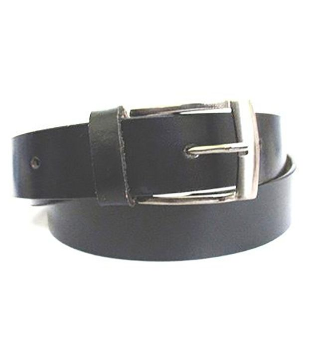 AAM Shopping Black Leather Casual Belt